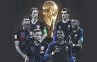 Siêu đội hình kết hợp Pháp – Croatia