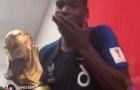 Pogba quẩy nhiệt tình với cúp vàng cùng đồng đội, 'troll' tuyển Anh tới bến