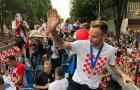 10% dân số Croatia xuống đường chào đón đội tuyển về nhà
