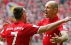 Bayern nhắm sao 75 triệu bảng của MU 'kế vị' Robben, Ribery