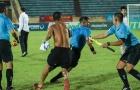 Cầu thủ Bà Rịa Vũng Tàu đuổi đánh trọng tài ở giải hạng Nhì