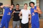 Jorginho được chào đón bởi 'hội Brazil' ở Chelsea