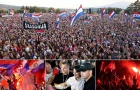 HLV Croatia được chào đón nồng nhiệt ở quê nhà