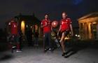 Tâng bóng rổ, bầu dục, tennis, thú vui của Robben, Coman, Wagner?