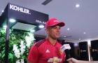 Huyền thoại Manchester United đến thăm Việt Nam và đối tác