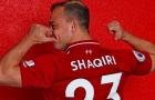 Liverpool đã may mắn mua Shaqiri chỉ với 1/3 giá trị