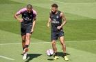 Neymar một thoáng đứng hình trước kỹ thuật của Mbappe