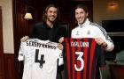 Giải nghệ 9 năm, Maldini vẫn khiến Ramos phải 'ngả mũ'