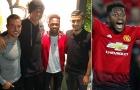 Tân binh Man Utd 'đi đêm' với dàn sao Chelsea