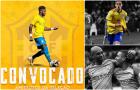 ĐT Brazil triệu tập đội hình: Man Utd 2, Man City 0