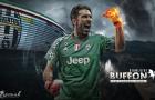 5 'ông lão' xuất chúng nhất thế giới bóng đá đương đại: 'Ông vua' khung gỗ Buffon