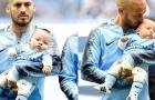 Xúc động khoảnh khắc David Silva bế con trai sinh non ra sân đấu