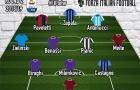 Đội hình tiêu biểu vòng 2 Serie A 2018/19: Fiorentina 'độc bá'