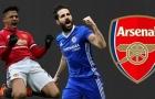 Đội hình 11 ngôi sao 'rời bỏ' Arsenal: Có tiếc không Wenger?