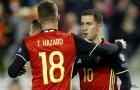 5 điểm nhấn Scotland 0-4 Bỉ: 'Song kiếm hợp bích' anh em nhà Hazard