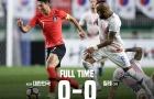 Hàn Quốc hòa Chile không bàn thắng trong trận cầu đôi công rực lửa