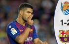 Highlights: Real Sociedad 1-2 Barcelona (Vòng 4 giải VĐQG Tây Ban Nha)