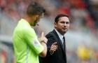 Lampard chửi trọng tài rồi bị đuổi, Derby County thua tức tưởi