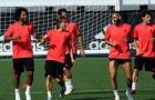 Real Madrid chuẩn bị đấu AS Roma: 'Đáng sợ hơn khi không có Ronaldo'