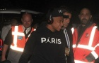 Thua đau Liverpool, Mbappe nhăn nhó trở về Pháp trong đêm tối