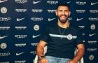 Nhận lương mới cao nhất Man City, Aguero cười tươi rói