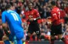 Có bàn thắng ra mắt, Fred đi vào lịch sử Man Utd