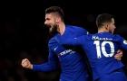 Chelsea cũng sở hữu một mũi đinh ba tấn công xuất sắc
