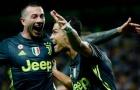 5 điểm nhấn Frosinone 0-2 Juventus: Bức tường màu vàng và đẳng cấp siêu sao