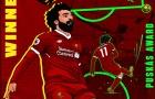NHM bức xúc với giải thưởng duy nhất của Salah ở The Best 2018
