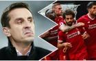 Sốc: Gary Neville làm điều khó tin trong phòng thay đồ Liverpool