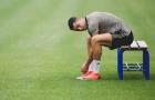 Không lên tuyển, Ronaldo chọn ai làm 'cạ cứng' trên sân tập Juve?
