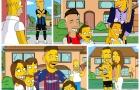 Sẽ ra sao khi các cầu thủ gia nhập Gia đình Simpson?