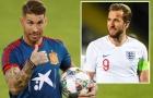 Sergio Ramos: 'Harry Kane còn lâu mới qua mặt được tôi'