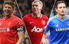 Vượt Gerrard, Lampard, huyền thoại M.U trở thành tiền vệ vĩ đại nhất Premier League