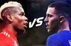 3 cặp đối đầu đáng xem nhất đại chiến Chelsea vs Man United