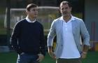 Dàn sao Inter Milan phấn khởi tột độ khi được huyền thoại ghé thăm