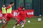 Salah và Van Dijk báo tin vui, HLV Kopp cười tươi trên sân tập