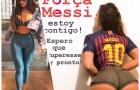 Messi chấn thương, người đẹp siêu vòng ba an ủi