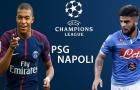 02h00 ngày 25/10, PSG vs Napoli: Quyết chiến giành ngôi đầu