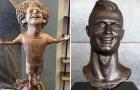 Top 10 bức tượng 'vạn người chê' của sao sân cỏ