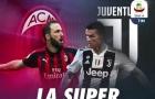 02h30 ngày 12/11, AC Milan vs Juventus: Tuyệt đỉnh hội ngộ
