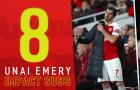 Các sự thay đổi người của Emery tại Arsenal ma thuật ra sao?