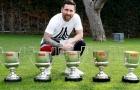 Hoàn tất cú ăn 5, Messi khoe số danh hiệu đồ sộ