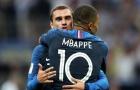 Deschamps lên tiếng về mối quan hệ giữa Griezmann và Mbappe