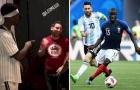 Đây, điều Pogba khiến Messi ngượng chín mặt tại Dubai