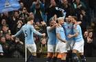 Chuyền bóng chuẩn nhất châu Âu: Man City vượt trội tất cả