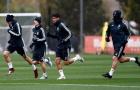 Bất chấp cái lạnh thấu xương, dàn sao Real Madrid vẫn tập cực sung