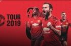 Chính thức: Man Utd công bố tour du đấu hè 2019, có thể đến Việt Nam