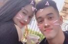Ghi bàn vào lưới Campuchia, Tiến Linh chia vui cùng bạn gái