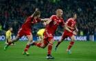 Robben chia tay Bayern Munich sau một thập kỷ gắn bó